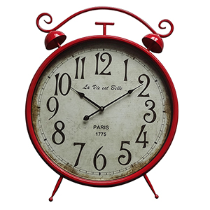 Fire Station Red Wall Clock