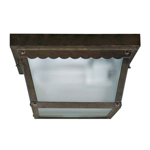 Exterior Lighting Series Dark Brown Two-Light Exterior Light