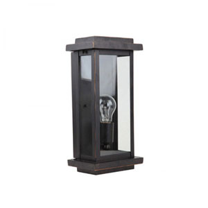 Ashlan One-Light Oil Rubbed Bronze Exterior Light
