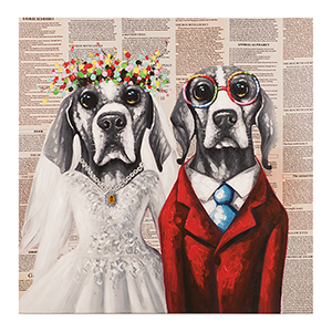 Mr. and Mrs. Canvas