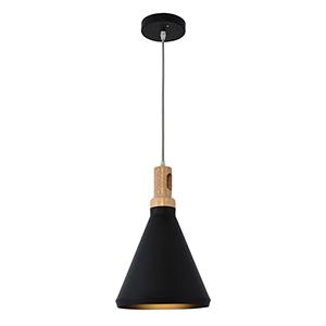 Noir Black One-Light Mini Pendant