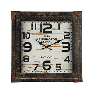 Time Track Wall Clock