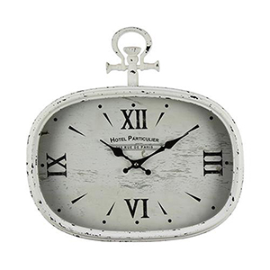 Chateau Mayne Antique White Wall Clock