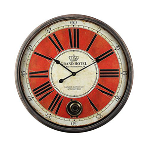 Grand Crowned Wall Clock