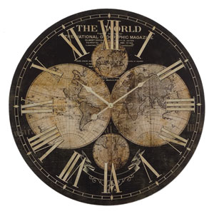 Ancient Guide Wall Clock