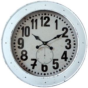 Vintage Wash Wall Clock