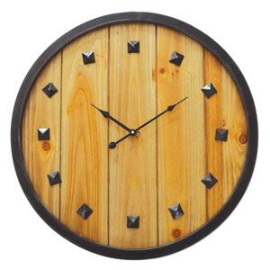 Rustic Roaming Wall Clock