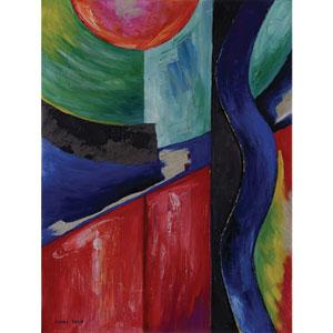 Around The Block: 36 x 48-Inch Wall Art