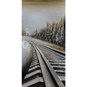 Long Commute: 30 x 59-Inch Wall Art