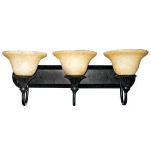 Verona Bronze Three-Light Vanity Light