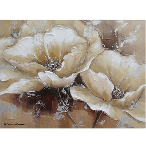 Full Bloom I 31 x 24 Acrylic Painting Reproduction