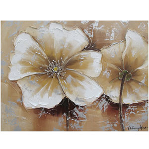 Full Bloom II 31 x 24 Acrylic Painting Reproduction