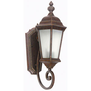 Brielle Brown Exterior Light Wall Mount