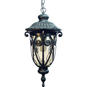 Viviana Oil-Rubbed Bronze Exterior Pendant Light