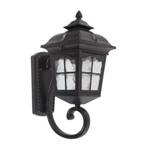 Amelia One-Light Oil Rubbed Bronze Small Exterior Light