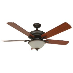 Matterhorn Oil Rubbed Bronze Two-Light 52-Inch Ceiling Fan