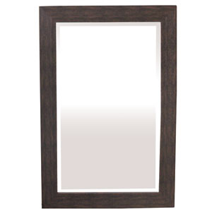 Espresso 36-Inch Tall Framed Mirror