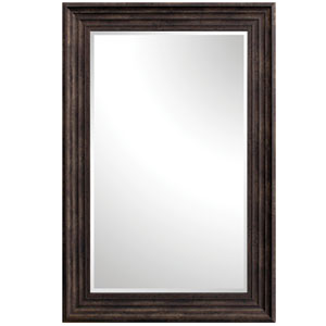 Espresso 36-Inch Tall Thick Framed Mirror