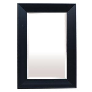 Black 36-Inch Tall Framed Mirror