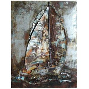 Sailors Way: 39 x 30 Wall Sculpture