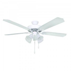 Westfield 52-Inch White Indoor Ceiling Fan