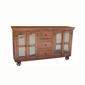 Warm Natural Cabinet