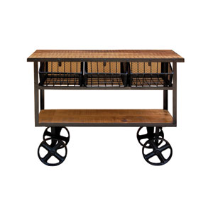 Lacquer Utility Cart