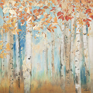 Birch Beauties II: 40 x 40-Inch Wall Art