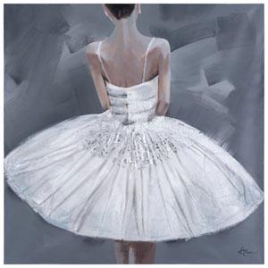 Ballerina III: 39.4 x 39.4-Inch Acrylic Painting