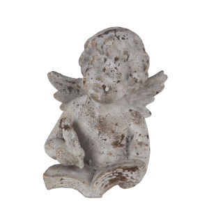 Stone Ceramic Angel Figurine