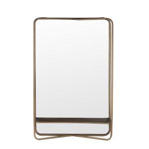 Dark Gold 6-Inch Wall Mirror