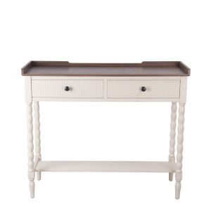 Antique Pearl Console Table