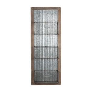 Gray 4-Inch Wall Décor