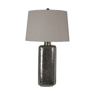 Mercury Glass 25-Inch Table Lamp