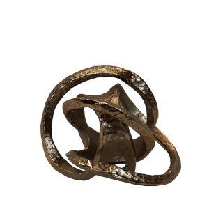 Silver Iron Decorative Object