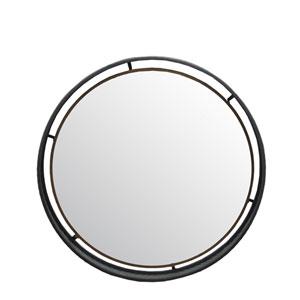 Metal Large Round Wall Mirror
