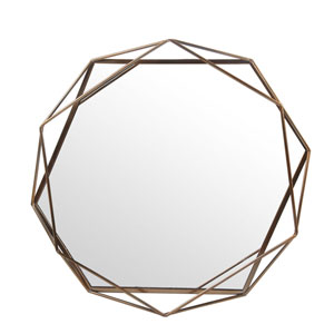 Iron Bronze Large Wall Mirror