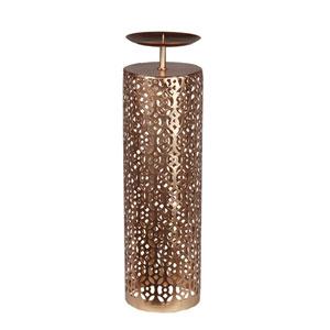 Gold Large Iron Candleholder