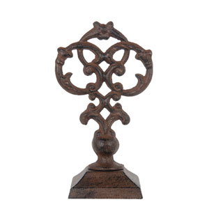 Brown Decorative Finial