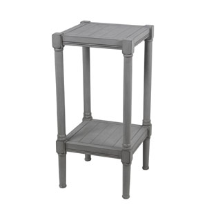Dove Grey Square Accent Table