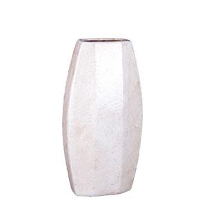 White Small Ceramic Vase