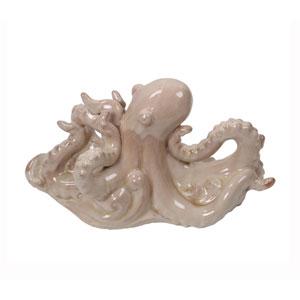 Cream Ceramic Octopus