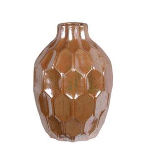 Walnut Large Ceramic Vase
