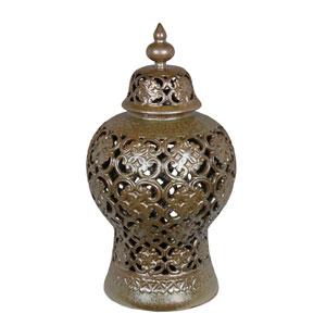 Chocolate Large Ceramic Vase