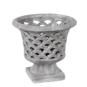 Gray Large Ceramic Vase