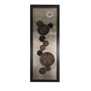Brown Framed: 20 x 59-Inch Wall Art
