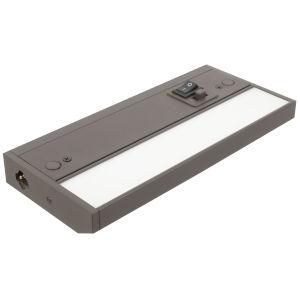 3 Complete Dark Bronze Eight-Inch LED Undercabinet Light