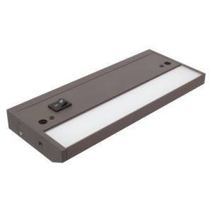 Complete Dark Bronze Nine-Inch LED Undercabinet Light
