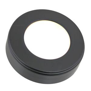 Omni Black LED Low Voltage Three Puck Light Kit