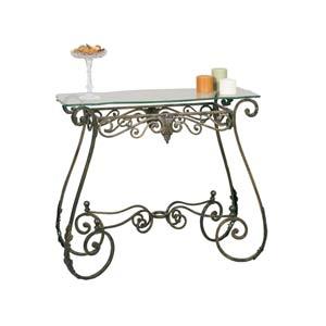 Bronzed Perugia Console Table